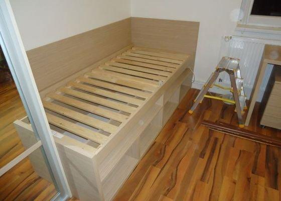 Zakázkový nábytek - ložnice, studentský pokoj