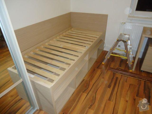 Zakázkový nábytek - ložnice, studentský pokoj: DSC02209