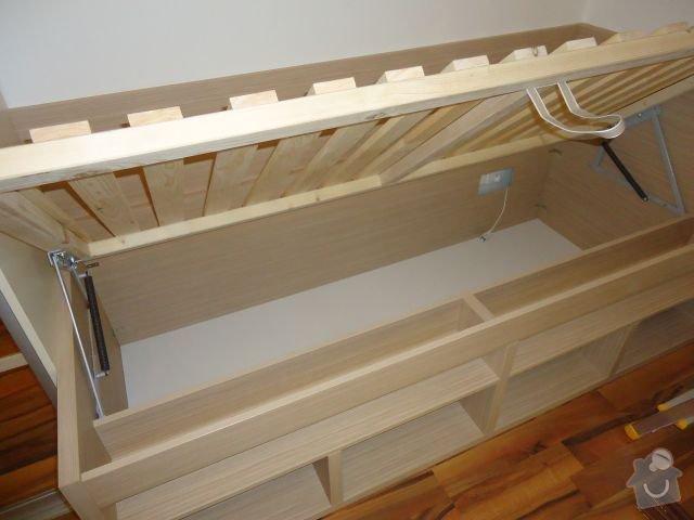 Zakázkový nábytek - ložnice, studentský pokoj: DSC02210
