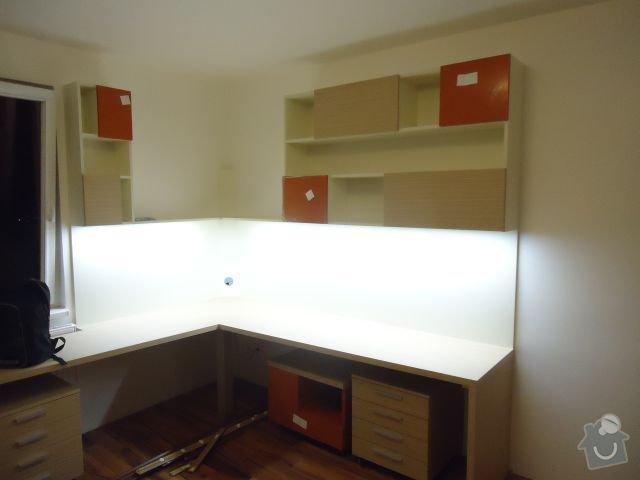 Zakázkový nábytek - ložnice, studentský pokoj: DSC02214