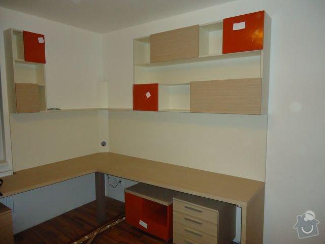 Zakázkový nábytek - ložnice, studentský pokoj: DSC02216