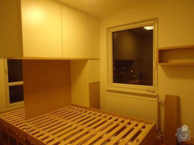 Zakázkový nábytek - ložnice, studentský pokoj: DSC02178