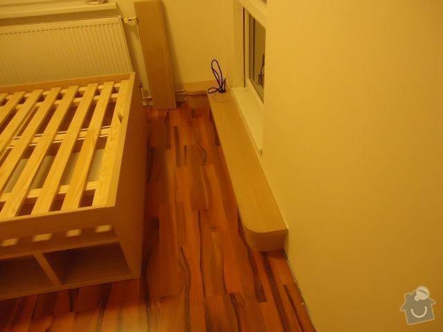Zakázkový nábytek - ložnice, studentský pokoj: DSC02179