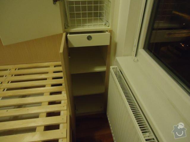 Zakázkový nábytek - ložnice, studentský pokoj: DSC02186