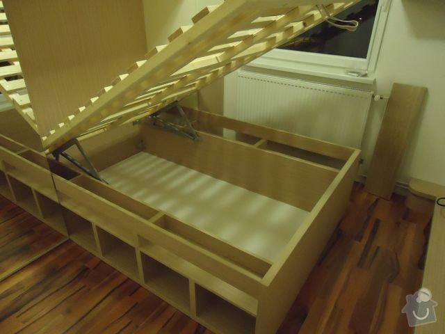 Zakázkový nábytek - ložnice, studentský pokoj: DSC02190