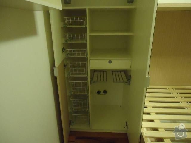 Zakázkový nábytek - ložnice, studentský pokoj: DSC02193