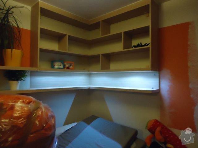 Zakázkový nábytek - ložnice, studentský pokoj: DSC02196