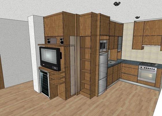 Kuchyňská linka na míru