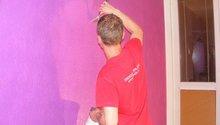 Vymalování ložnice,položení plovoucí podlahy,poskládaní skříně a postele