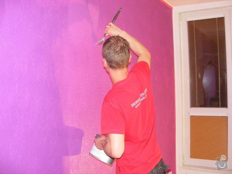 Vymalování ložnice,položení plovoucí podlahy,poskládaní skříně a postele: DSCF2579