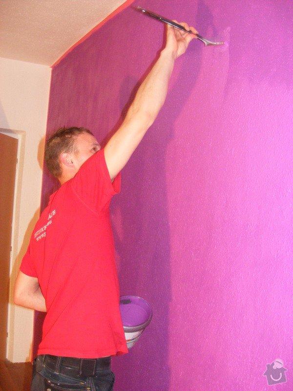 Vymalování ložnice,položení plovoucí podlahy,poskládaní skříně a postele: DSCF2580