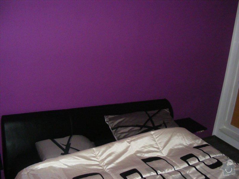Vymalování ložnice,položení plovoucí podlahy,poskládaní skříně a postele: DSCF2598