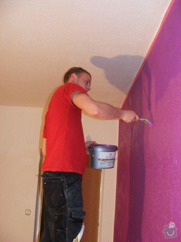 Vymalování ložnice,položení plovoucí podlahy,poskládaní skříně a postele: DSCF2584