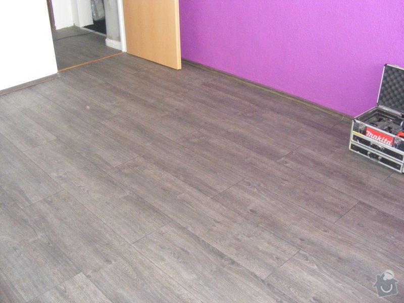 Vymalování ložnice,položení plovoucí podlahy,poskládaní skříně a postele: DSCF2592