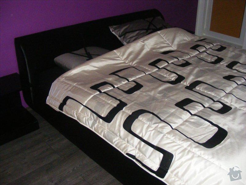 Vymalování ložnice,položení plovoucí podlahy,poskládaní skříně a postele: DSCF2597