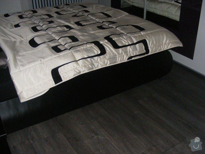 Vymalování ložnice,položení plovoucí podlahy,poskládaní skříně a postele: DSCF2602