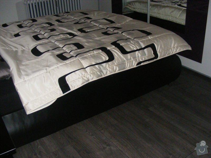 Vymalování ložnice,položení plovoucí podlahy,poskládaní skříně a postele: DSCF2603