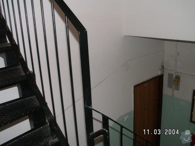 Montáž madel na zábradlí schodiště: PICT0005