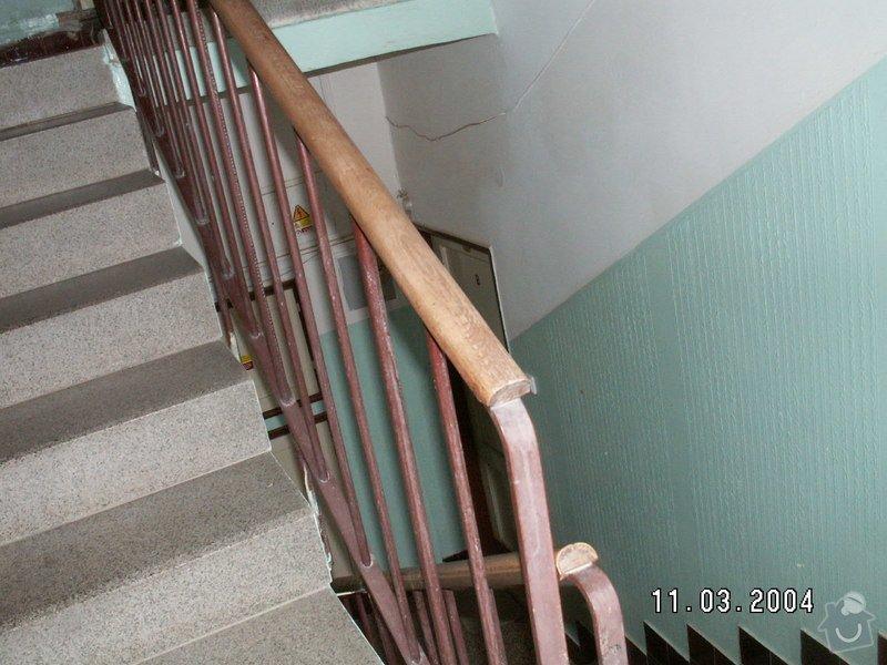 Montáž madel na zábradlí schodiště: PICT0008