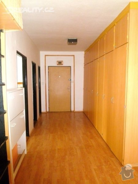 Příprava bytu na rekonstrukci, posunutí příček: predsin