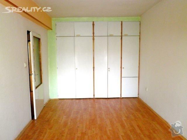 Příprava bytu na rekonstrukci, posunutí příček: loznice