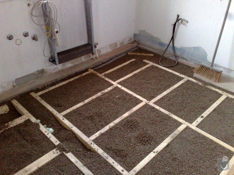 Pokládka podlahy: 08022008821