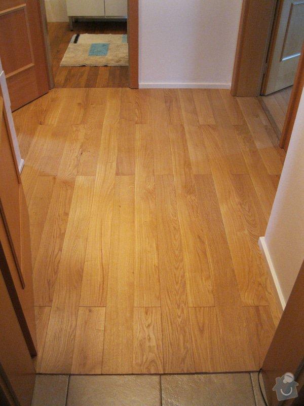 Pokládka podlahy: 2