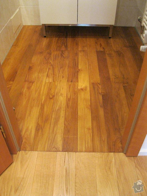 Pokládka podlahy: 3
