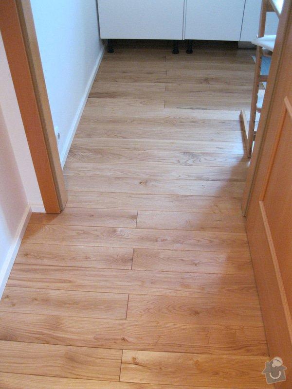 Pokládka podlahy: 1