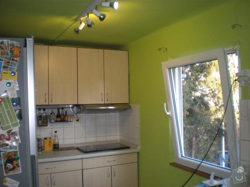 Vymalování kuchyňky vlastní barvou: P4101308