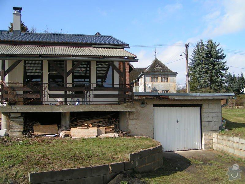 Poptávám dřevostavbu - přístavbu rodinného domu (3 místnosti, plocha 460 cm x 900cm) : PICT0120