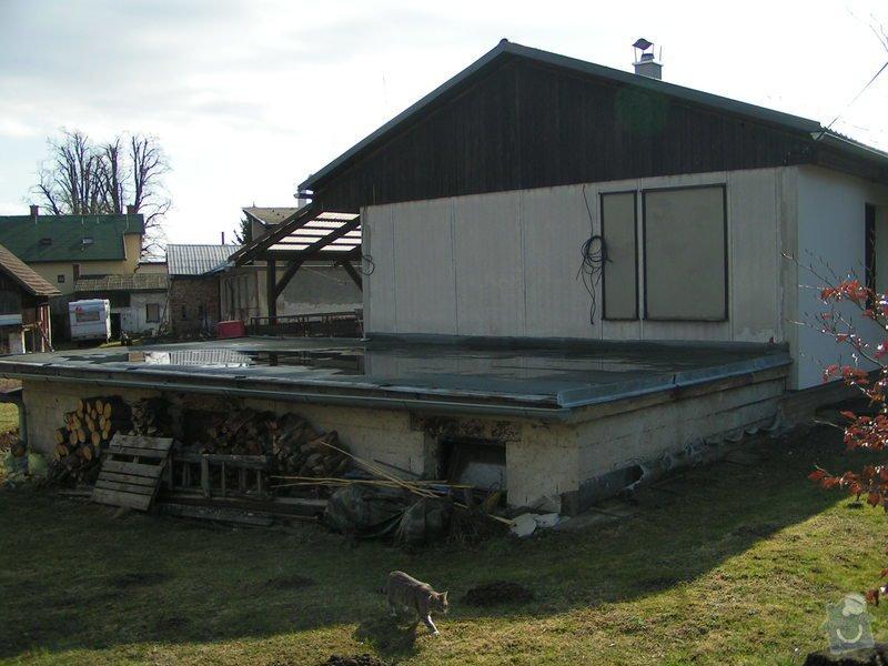 Poptávám dřevostavbu - přístavbu rodinného domu (3 místnosti, plocha 460 cm x 900cm) : PICT0122