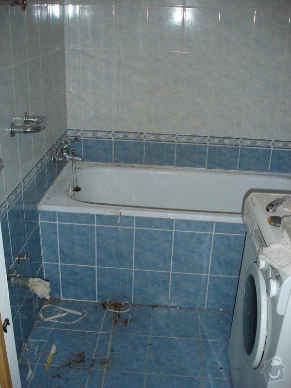 Částečná rekonstrukce bytu (koupelna, vymalování, koberce a drobné opravy): DSC00768