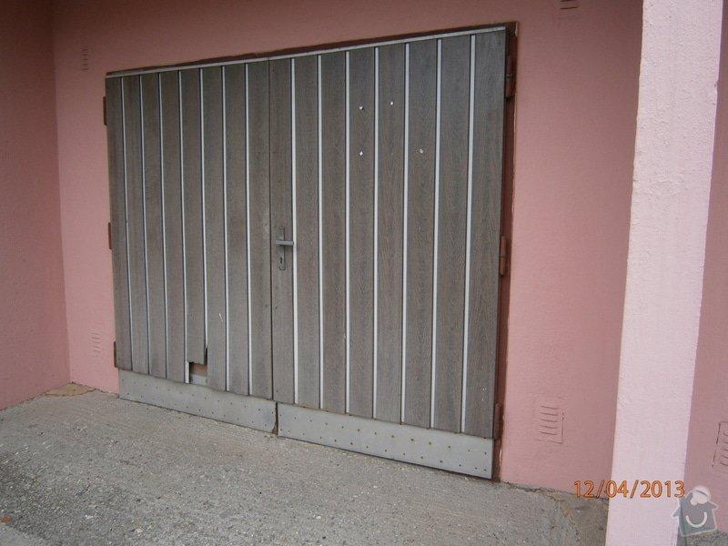 Oprava garážových vrat: P4120014