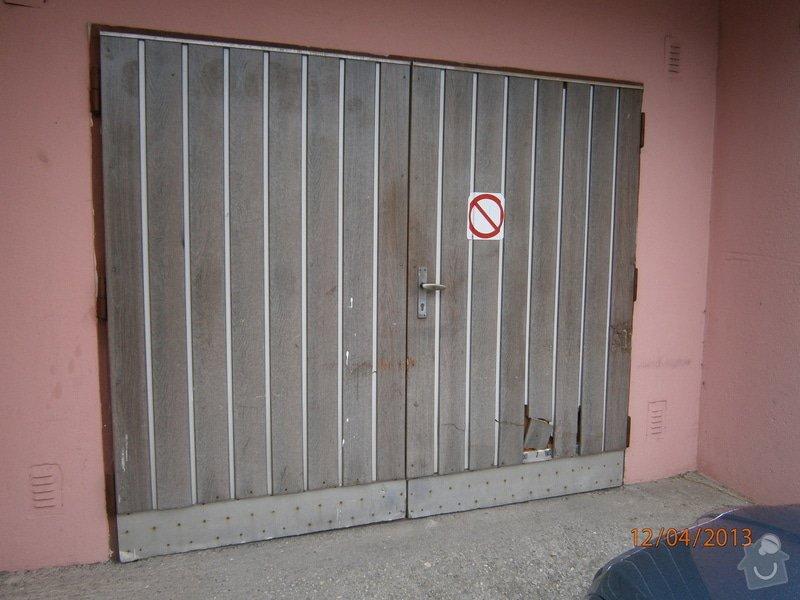 Oprava garážových vrat: P4120015