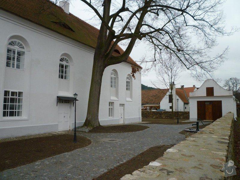 Dokončení rekonstrukce synagogy Čkyně: P1010964