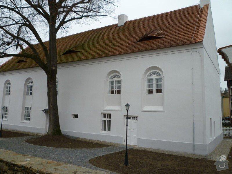 Dokončení rekonstrukce synagogy Čkyně: P1010965
