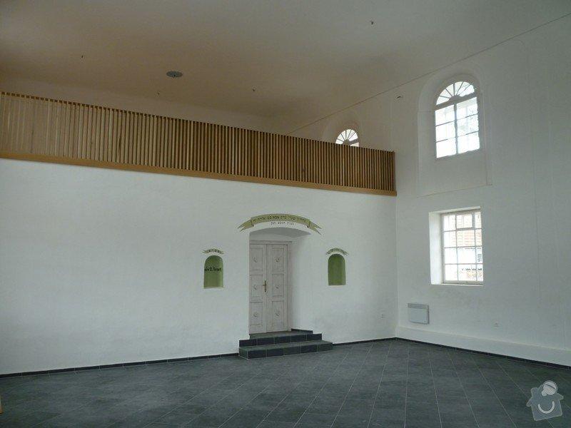 Dokončení rekonstrukce synagogy Čkyně: P1020004