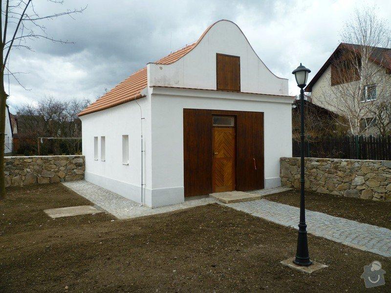 Dokončení rekonstrukce synagogy Čkyně: P1010996