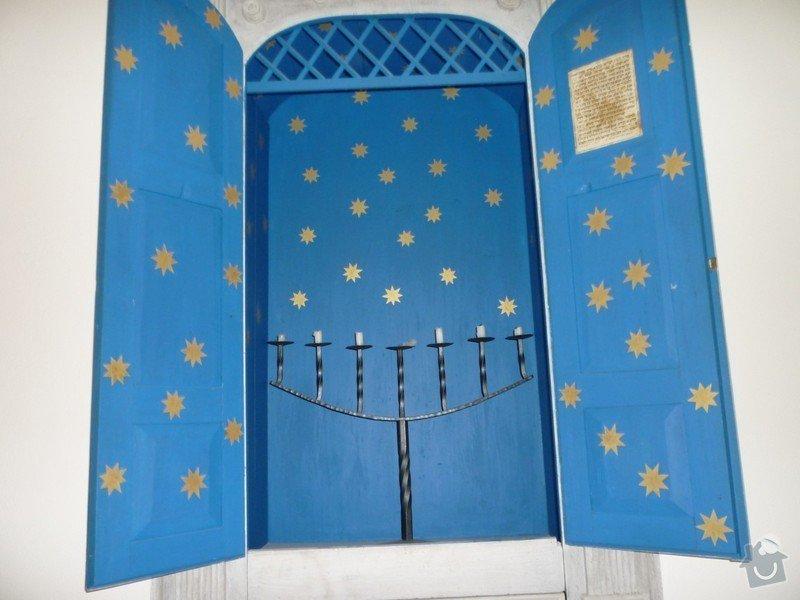 Dokončení rekonstrukce synagogy Čkyně: P1020042