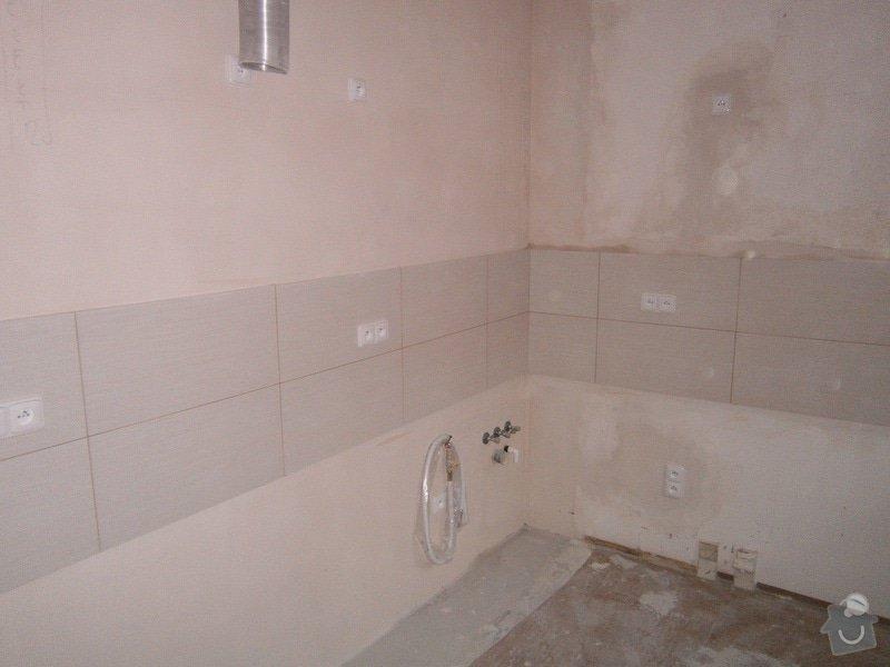 Rekonstrukce bytového jádra a stavební úpravy pro osazení kuchyňské linky: P3290039