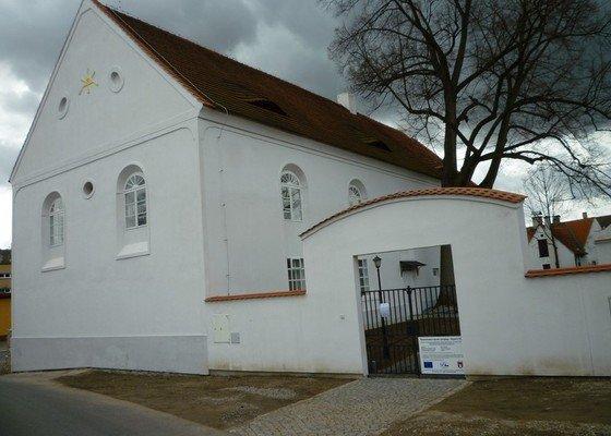 Dokončení rekonstrukce synagogy Čkyně