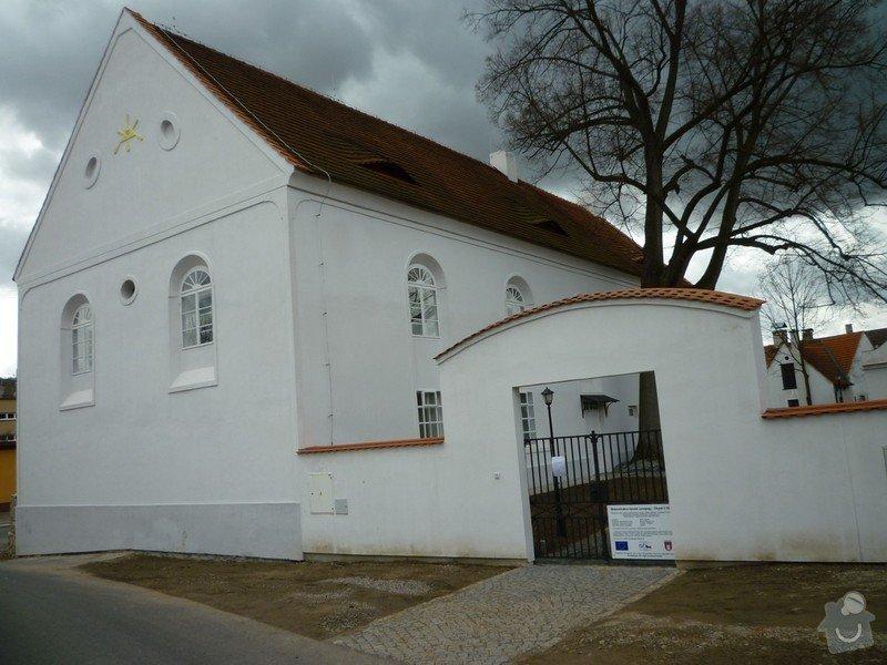 Dokončení rekonstrukce synagogy Čkyně: P1020051