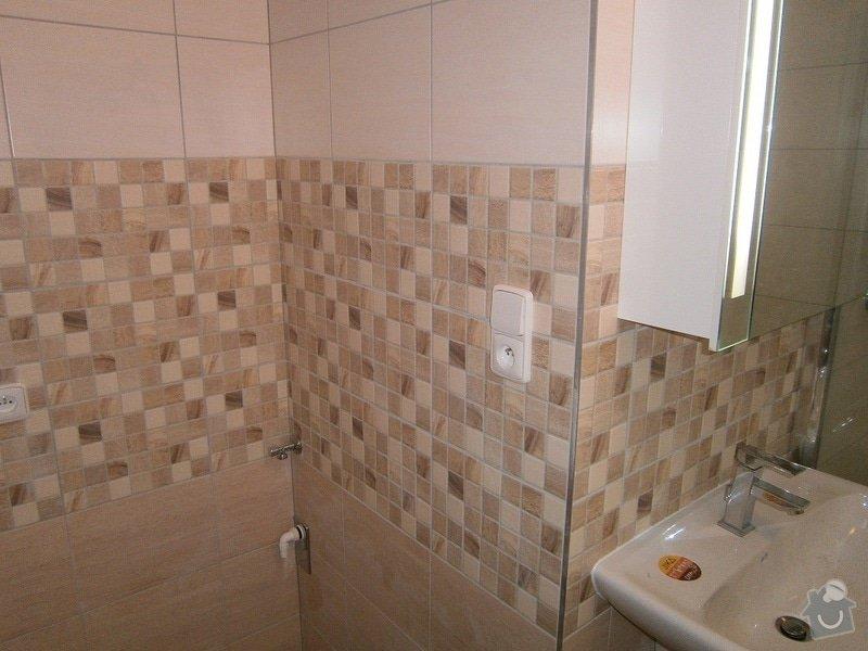 Rekonstrukce bytového jádra a stavební úpravy pro osazení kuchyňské linky: P3290046