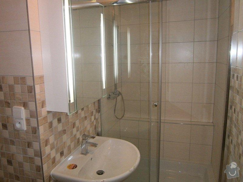 Rekonstrukce bytového jádra a stavební úpravy pro osazení kuchyňské linky: P3290047