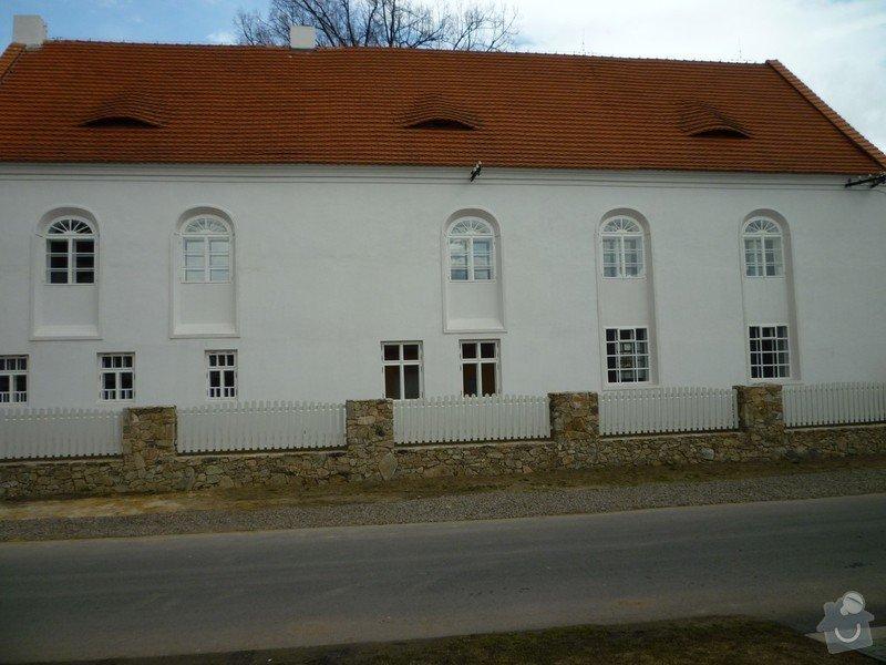 Dokončení rekonstrukce synagogy Čkyně: P1020052