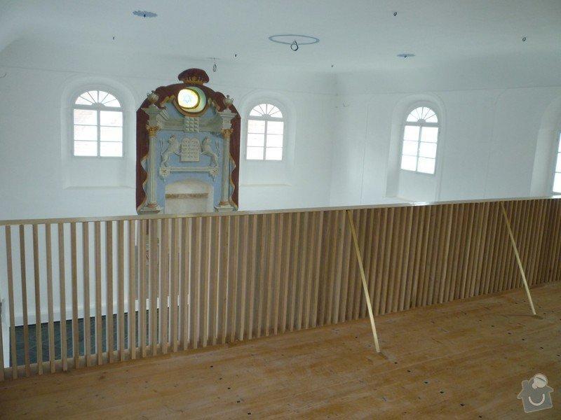 Dokončení rekonstrukce synagogy Čkyně: P1020025