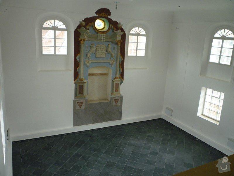 Dokončení rekonstrukce synagogy Čkyně: P1020024