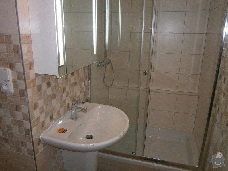Rekonstrukce bytového jádra a stavební úpravy pro osazení kuchyňské linky: P3290049