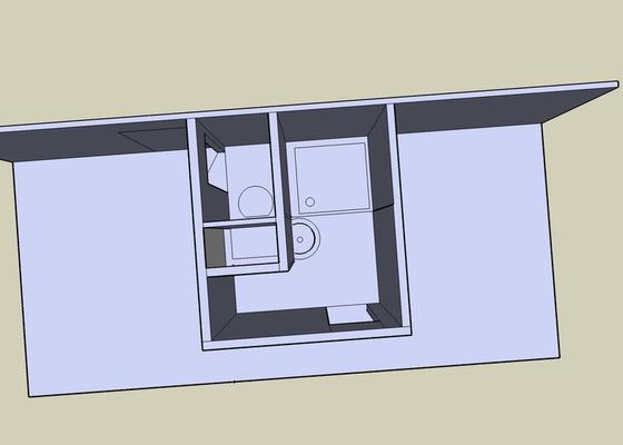 Rekonstrukce bytového jádra a stavební úpravy pro osazení kuchyňské linky